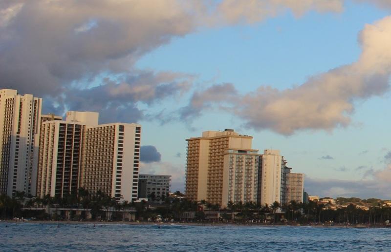 Waikiki Honolulu O'ahu,Hawaii