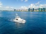 Yacht in Honolulu